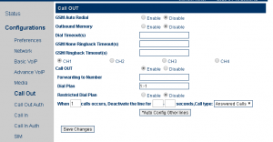 Настройка GoIP4-шлюза для работы с FreePBX